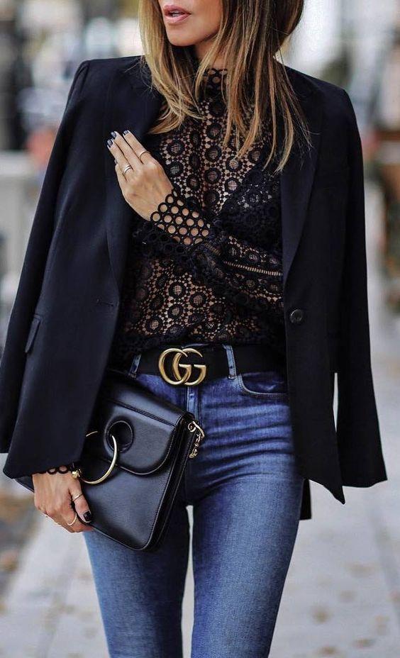 Jeans e Blazer