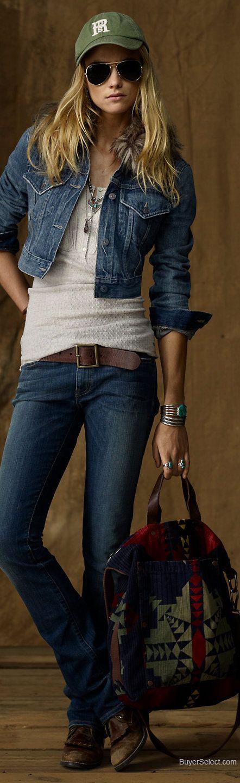 jeans e giacca denim