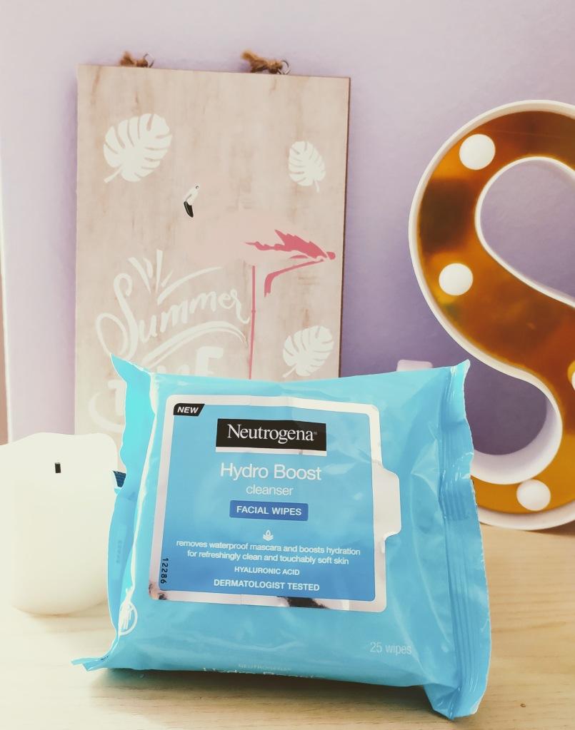 neutrogena hydro boost salviette